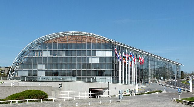 European Investment Bank Luxembourg (view from S) by Palauenc05CC BY-SA 3.0